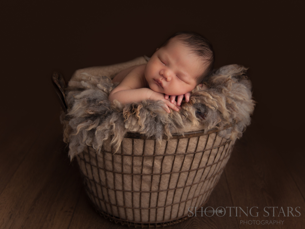 Importance of safety during a newborn shoot